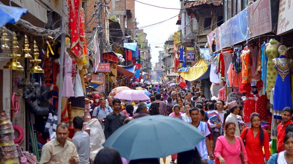 Thamel Market Kathmandu